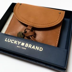 Lucky Brand Rayla leather card case